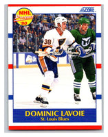 1990-91 Score #416 Dominic Lavoie Mint RC Rookie