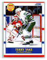 1990-91 Score #419 Terry Yake Mint RC Rookie