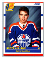 1990-91 Score #424 Scott Allison Mint RC Rookie