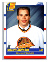 1990-91 Score #429 Shawn Antoski Mint RC Rookie