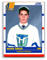 1990-91 Score #431 Mark Greig Mint RC Rookie