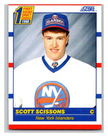 1990-91 Score #432 Scott Scissons Mint RC Rookie