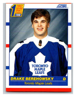 1990-91 Score #434 Drake Berehowsky Mint RC Rookie
