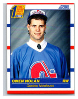 1990-91 Score #435 Owen Nolan Mint RC Rookie