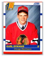 1990-91 Score #437 Karl Dykhuis Mint RC Rookie