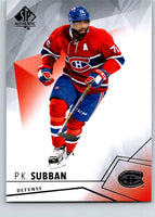 2015-16 Upper Deck SP Authentic #3 P.K. Subban Canadiens