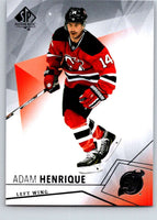 2015-16 Upper Deck SP Authentic #6 Adam Henrique NJ Devils