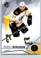 2015-16 Upper Deck SP Authentic #12 Patrice Bergeron Bruins