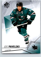2015-16 Upper Deck SP Authentic #16 Joe Pavelski Sharks