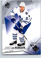 2015-16 Upper Deck SP Authentic #18 James van Riemsdyk Maple Leafs