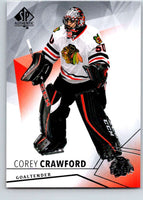 2015-16 Upper Deck SP Authentic #19 Corey Crawford Blackhawks