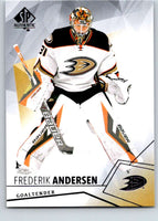 2015-16 Upper Deck SP Authentic #21 Frederik Andersen Ducks
