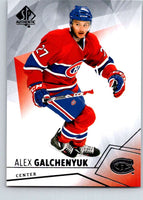 2015-16 Upper Deck SP Authentic #24 Alex Galchenyuk Canadiens