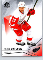 2015-16 Upper Deck SP Authentic #27 Pavel Datsyuk Red Wings