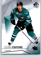 2015-16 Upper Deck SP Authentic #28 Logan Couture Sharks