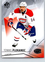 2015-16 Upper Deck SP Authentic #31 Tomas Plekanec Canadiens