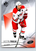 2015-16 Upper Deck SP Authentic #33 Justin Faulk Hurricanes