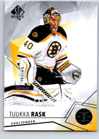2015-16 Upper Deck SP Authentic #34 Tuukka Rask Bruins