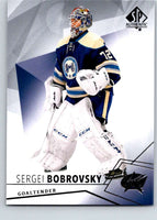2015-16 Upper Deck SP Authentic #36 Sergei Bobrovsky Blue Jackets