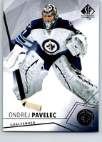2015-16 Upper Deck SP Authentic #41 Ondrej Pavelec Winn Jets