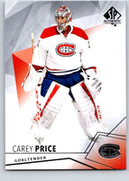 2015-16 Upper Deck SP Authentic #46 Carey Price Canadiens