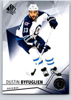 2015-16 Upper Deck SP Authentic #50 Dustin Byfuglien Winn Jets