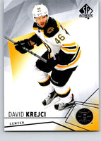 2015-16 Upper Deck SP Authentic #53 David Krejci Bruins