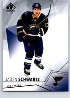 2015-16 Upper Deck SP Authentic #57 Jaden Schwartz Blues