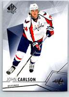 2015-16 Upper Deck SP Authentic #58 John Carlson Capitals