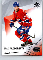 2015-16 Upper Deck SP Authentic #59 Max Pacioretty Canadiens