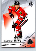 2015-16 Upper Deck SP Authentic #60 Jonathan Toews Blackhawks