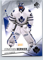 2015-16 Upper Deck SP Authentic #65 Jonathan Bernier Maple Leafs
