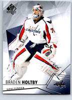 2015-16 Upper Deck SP Authentic #66 Braden Holtby Capitals