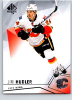2015-16 Upper Deck SP Authentic #68 Jiri Hudler Flames