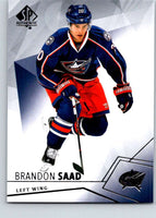 2015-16 Upper Deck SP Authentic #79 Brandon Saad Blue Jackets