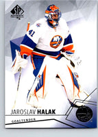 2015-16 Upper Deck SP Authentic #81 Jaroslav Halak NY Islanders