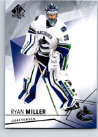2015-16 Upper Deck SP Authentic #82 Ryan Miller Canucks