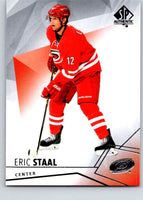 2015-16 Upper Deck SP Authentic #83 Eric Staal Hurricanes