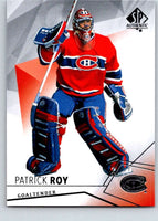 2015-16 Upper Deck SP Authentic #85 Patrick Roy Canadiens
