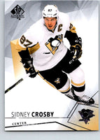 2015-16 Upper Deck SP Authentic #87 Sidney Crosby Penguins