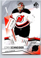2015-16 Upper Deck SP Authentic #91 Cory Schneider NJ Devils