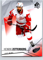 2015-16 Upper Deck SP Authentic #95 Henrik Zetterberg Red Wings