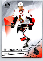 2015-16 Upper Deck SP Authentic #96 Erik Karlsson Senators