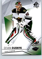 2015-16 Upper Deck SP Authentic #100 Devan Dubnyk Wild