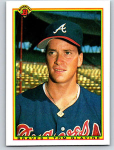 1990 Bowman #2 Tom Glavine Mint