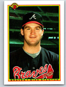 1990 Bowman #4 Mike Stanton Mint RC Rookie