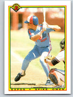 1990 Bowman #116 Spike Owen Mint