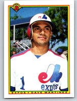1990 Bowman #121 Dave Martinez Mint