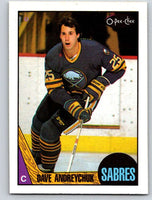 1987-88 O-Pee-Chee #3 Dave Andreychuk Sabres Mint