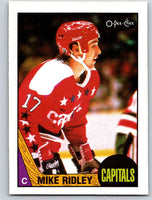 1987-88 O-Pee-Chee #8 Mike Ridley Capitals Mint